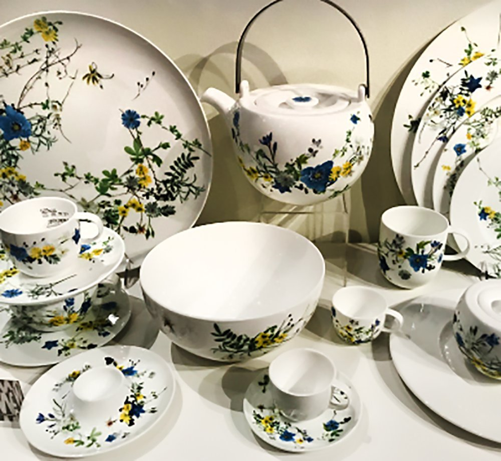 Rosenthal china floral pattern