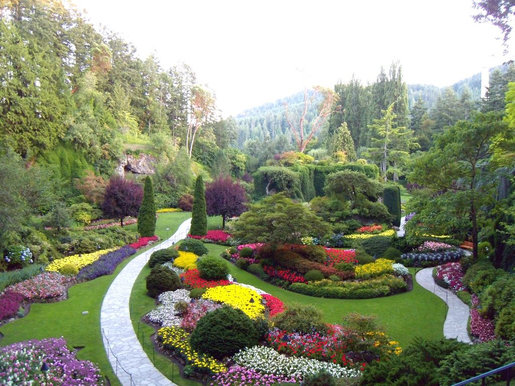 The Butchart Gardens In Victoria Island