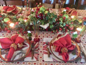 Carolyne Roehm Holiday Floral Arrangmenet
