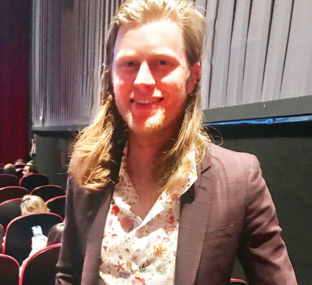 Wesley Schultz Lumineers Floral Shirt