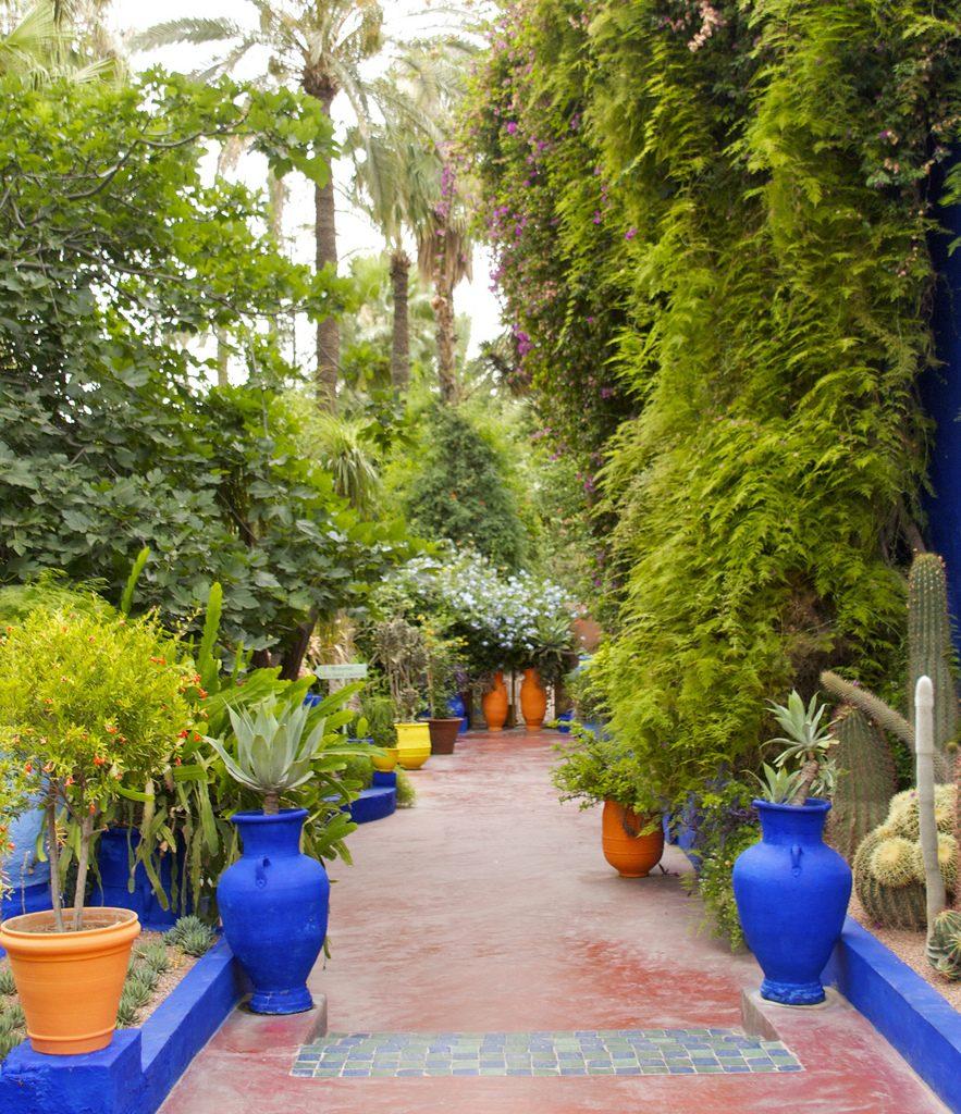 Jardin Majorelle Marrakesh Morocco
