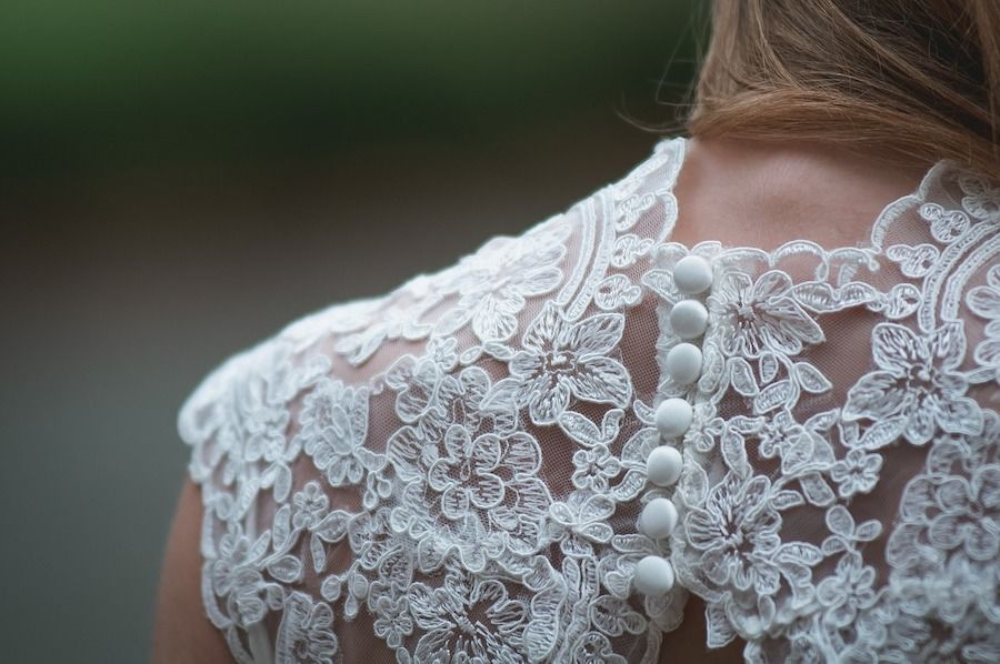 Lace In Todays Fashion Wedding Dress