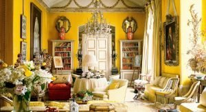Nancy Lancaster's Yellow Drawing Room