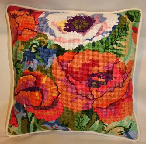 Rose Flowers Needlepoint