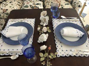 Carolyne Roehm Table Setting