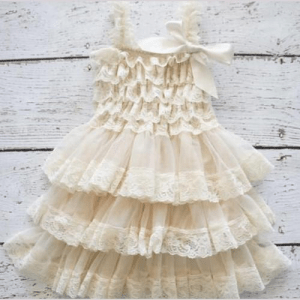 Layered skirt baby shower gifts