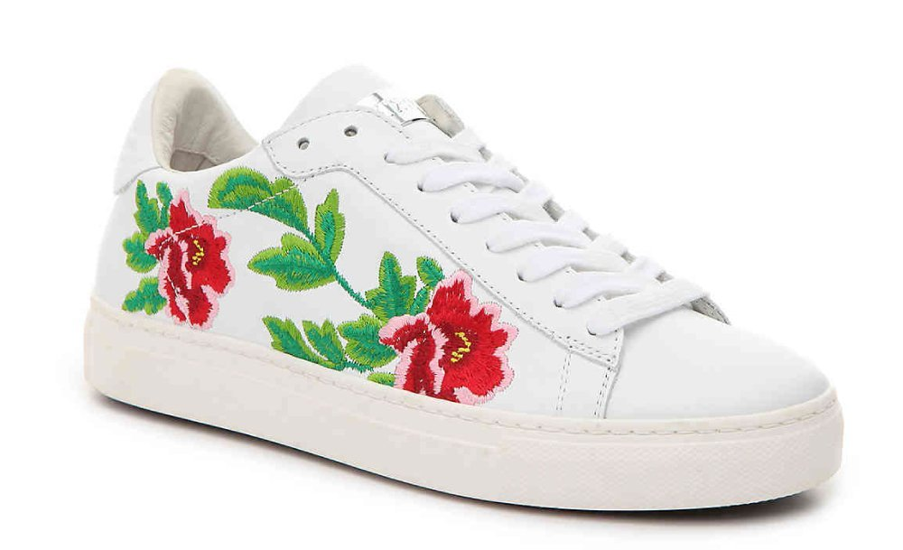Stokton Vitello Floral Sneakers