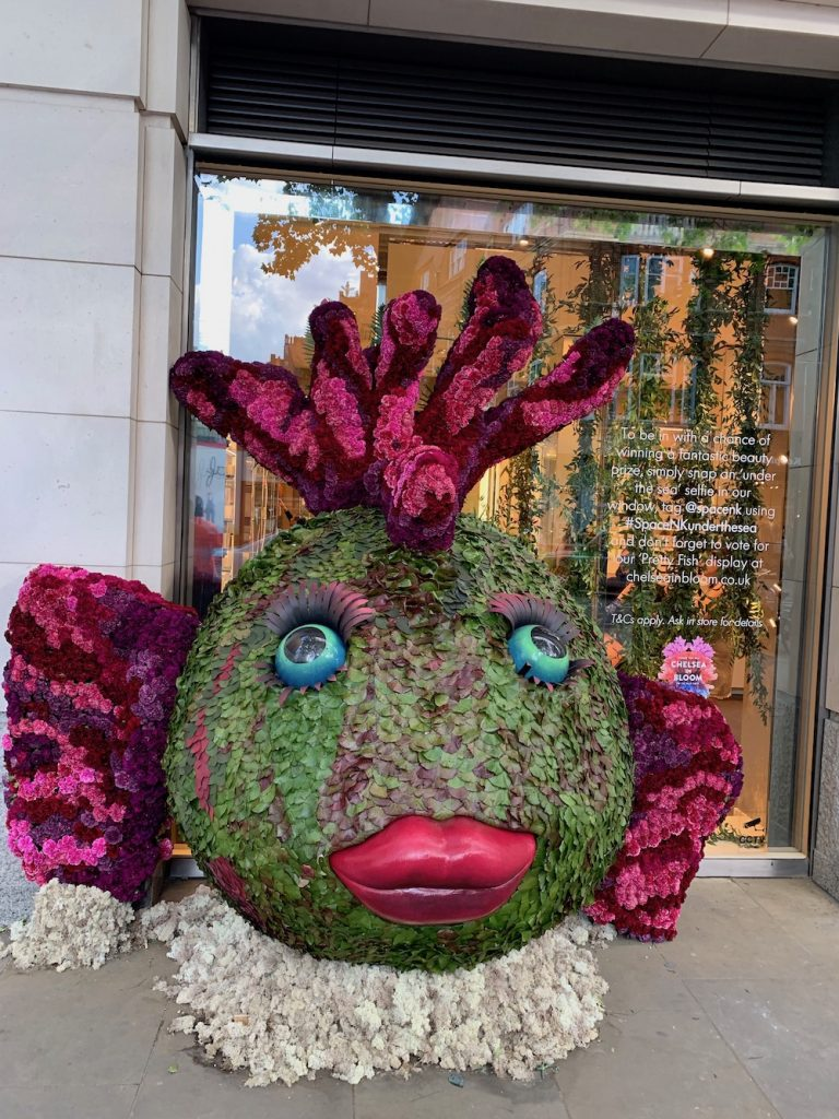 Giant Flower Fish Chelsea Flower Show
