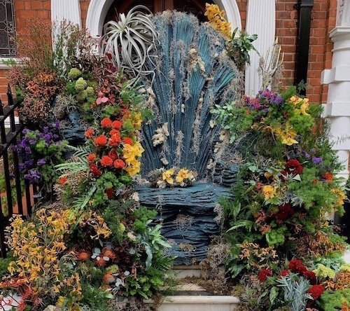 Neptune's Throne Chelsea Flower Show
