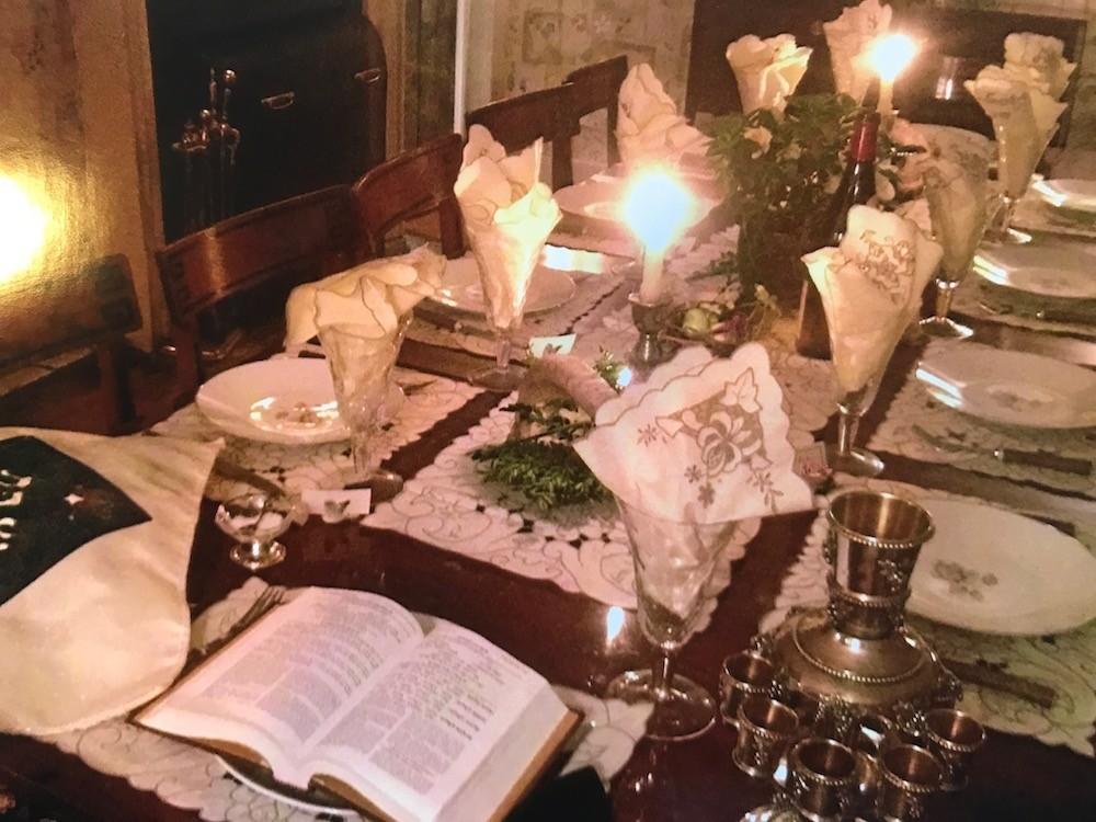 Jewish Table Decor