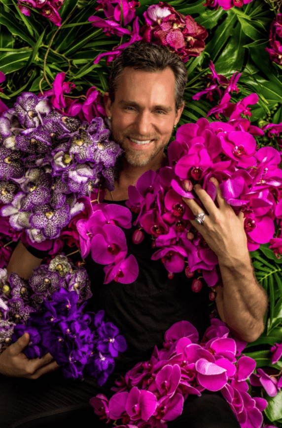 Floral star Jeff Leatham Will Oversee NYBG Orchid Show