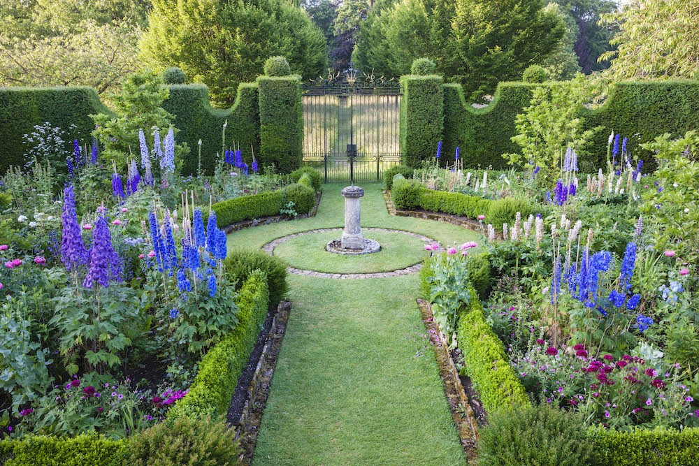 prince charles sundial garden highgrove